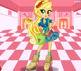 Apple Jack'in Okul Stili
