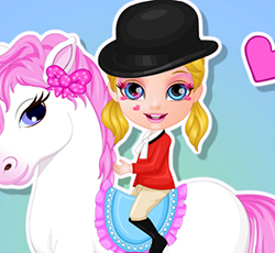 Bebek Barbie ve Pony