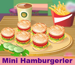 Mini Hamburgerler