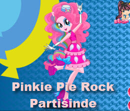 Pinkie Pie Rock Partisinde