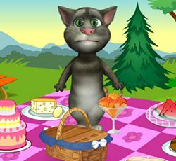 Talking Tom Piknikte